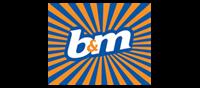 B&M logo
